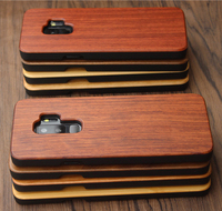 Wood Bamboo Cell Phone Case Cover For Samsung S9/S9 Plus Bamboo Case