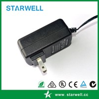 24V 1A AC/DC adapters Desktop / Wall plug in type with UL CE FCC TUV CB approval