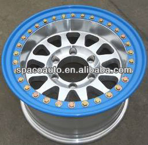 4x4 chrome alloy wheels for toyota
