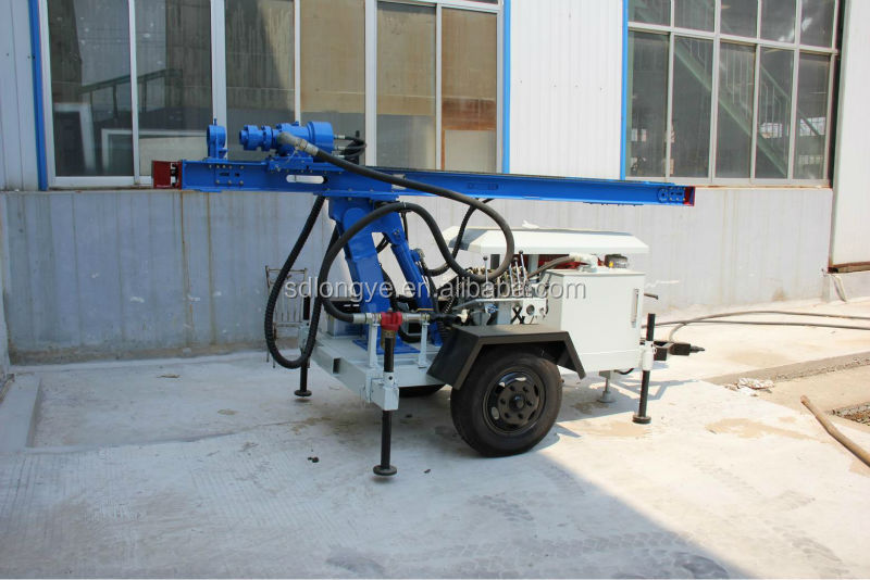 small portable water well drilling rig(CTQ-L100Y)