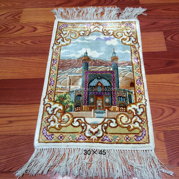 New Design Turkish Persian 1x1 4ft Handmade Silk Wall Hanging Rugs
