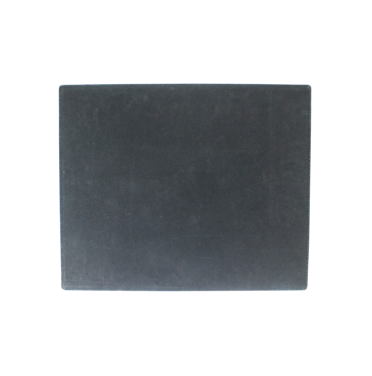 Spleetoog markt Zwart Lederen Computer Bureau Pad/Mat