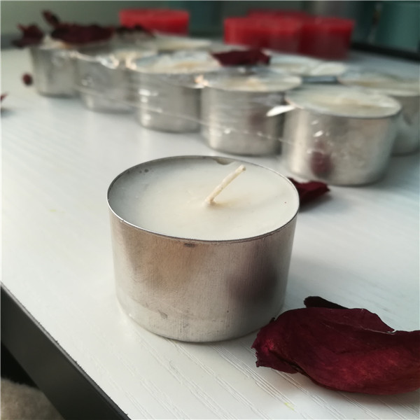Soy wax tealight candles 8 hour unscented handmade candles
