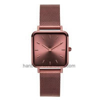 2019 Hot Watches Ladies Women Wristwatch Quartz Stainless Steel Watch Water Resistant Ultra Thin Man Watch