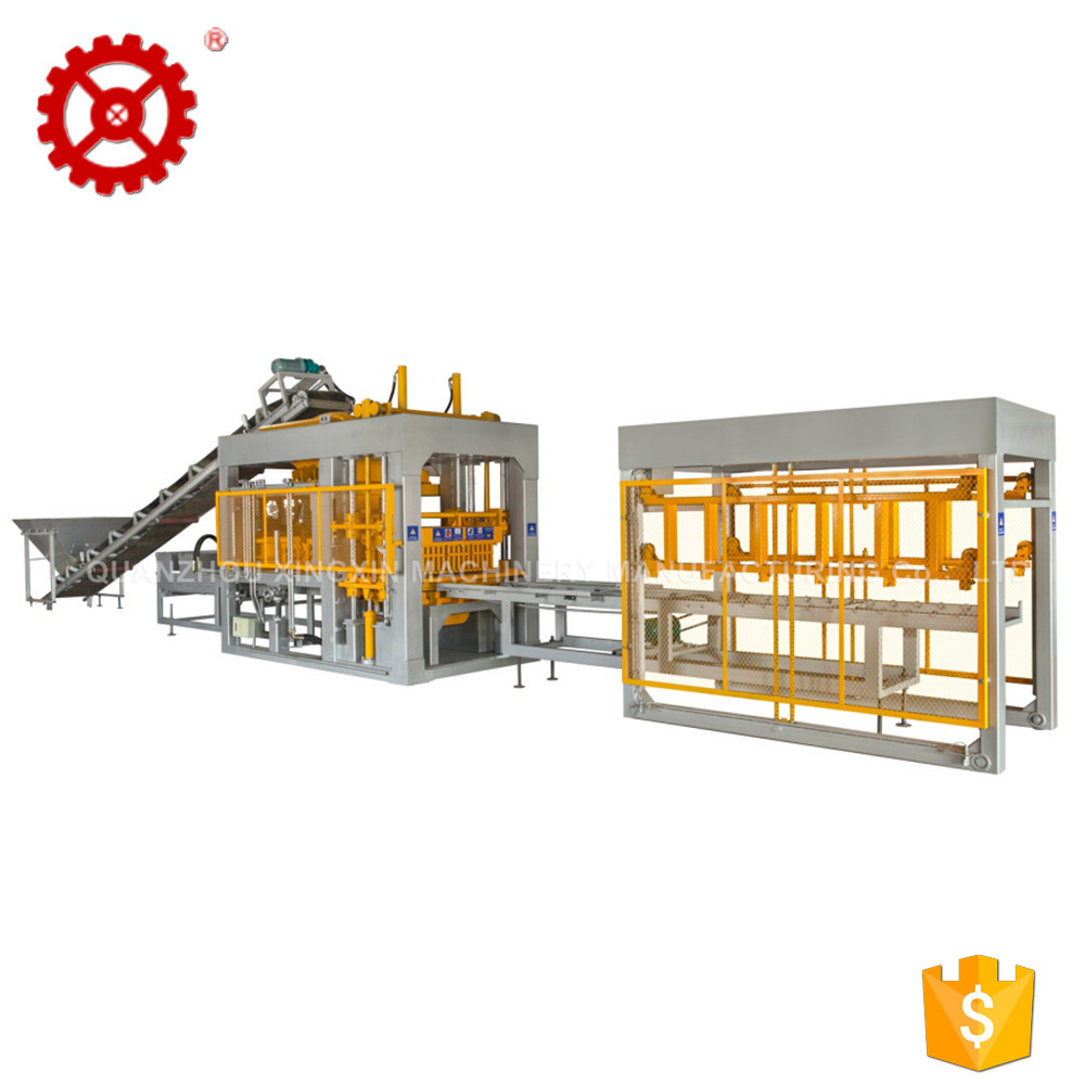 XINGXIN brand fully auto  QT4-15 industrial concrete block making machine