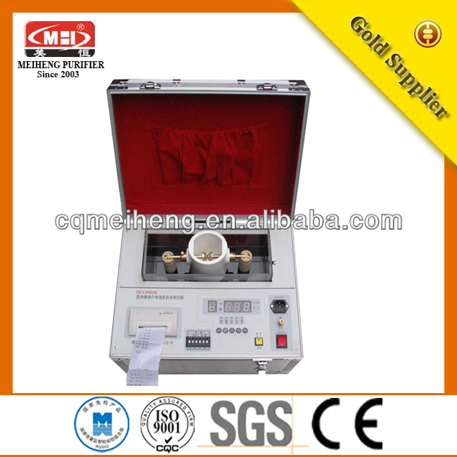 HCJ High Efficient Transformer Oil tester insulating oil/high voltage tester/sedimentation process in water treatment/high volta