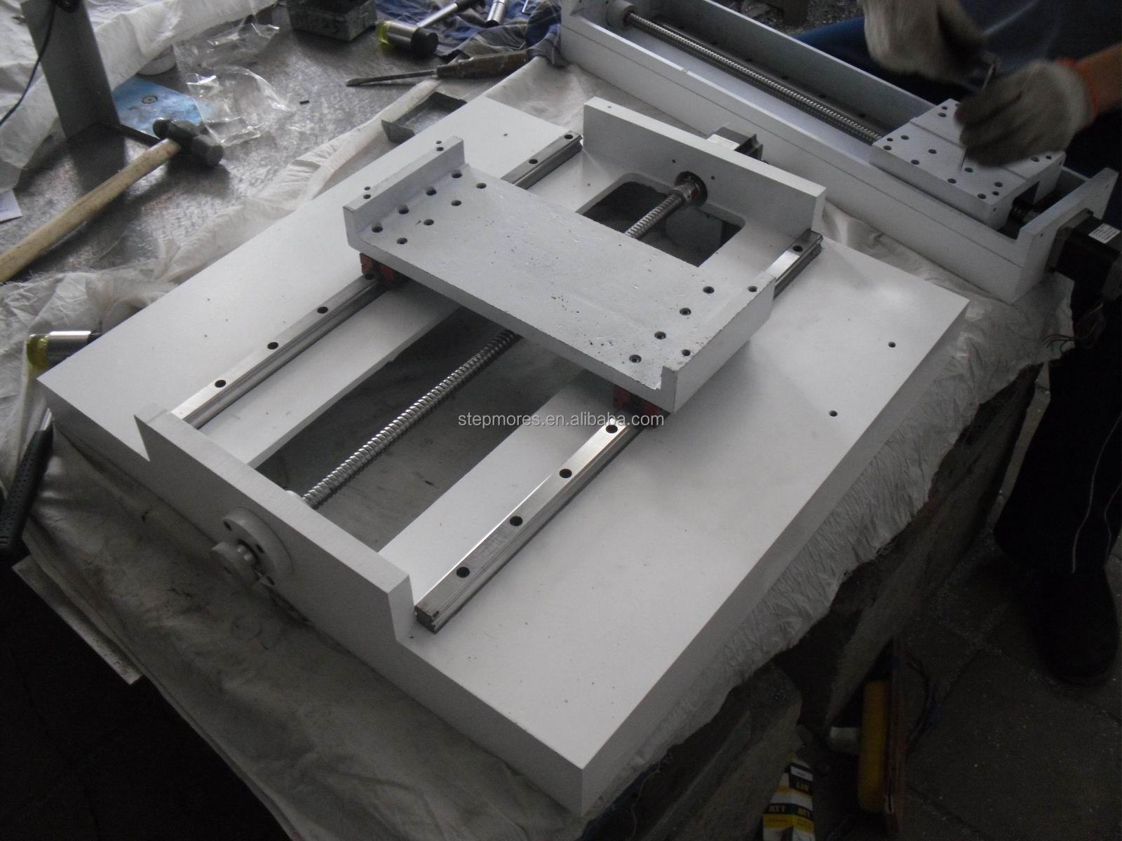 Iron Casting Body Sm 4040 Mini Cnc Milling Machine Cnc