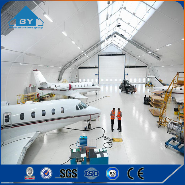 2017 Prefabricated Light Steel Structure Airplane Hangar