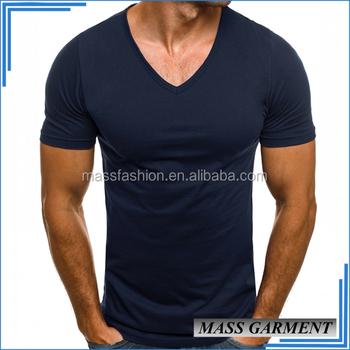2017 Bulk Slim Fit V Neck T Shirt Latest Formal Shirt Designs For