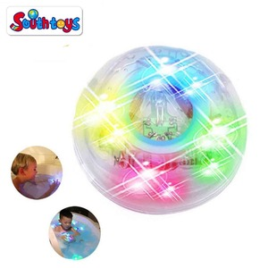 Bathtub play toy waterproof Led light up bath toys for baby and kids