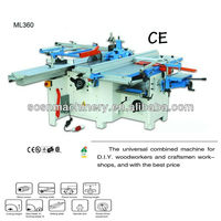 woodworking combined universal wood machine ML360,with CE,OEM price, six functions, in stock,