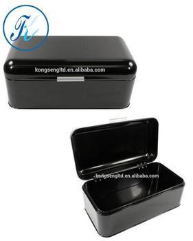 Bread Box / Storage Bin black  sc 1 st  Alibaba & Bread Box / Storage BinBlack - Buy Metal Bread BoxStorage Bin ...