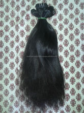 100% unprocessed virgin Indian straight hair weave, human hair extensions, human hair wigs