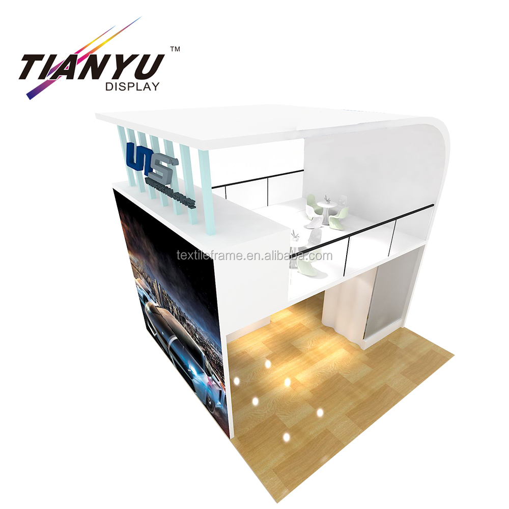 portable future trend modular custom trade show /exhibition display stand