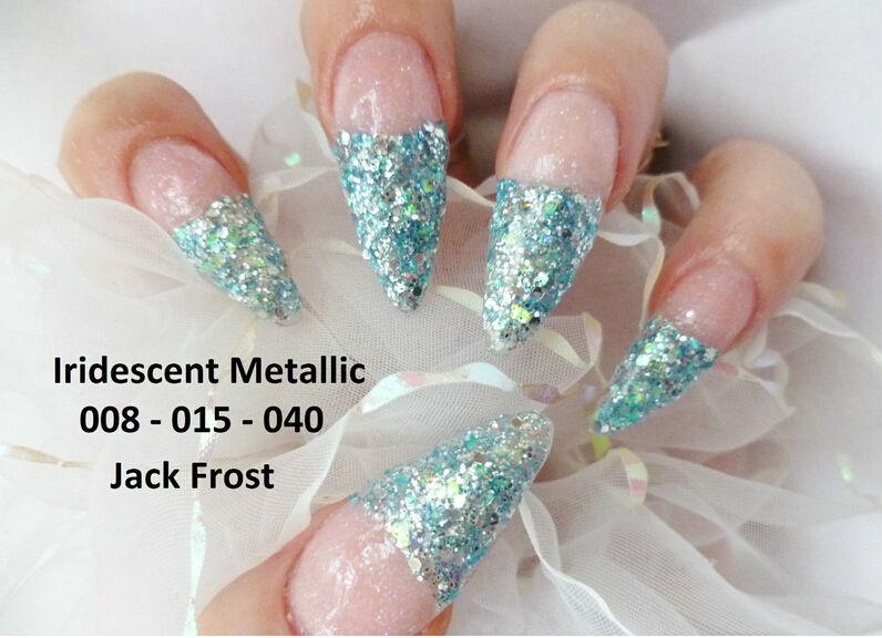 Nail Art Glitter Bora 040 015 008 Rockstar Mixes Holographic