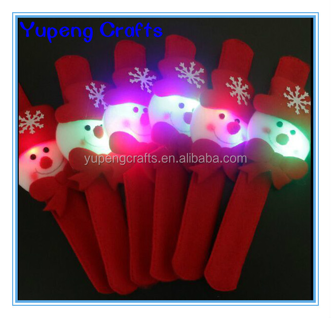 Christmas Decoration Luminous LED Light Bracelets Bangles Wristbands
