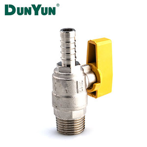 Household Brass Lpg Gas Valve For Cookers