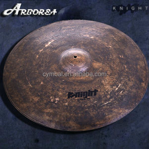 "Knight series 24"" ride Factory drum cymbal hot sale"