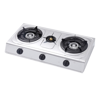 JX-7003F Made In China High Performance Three Burner Propane Gas Stove