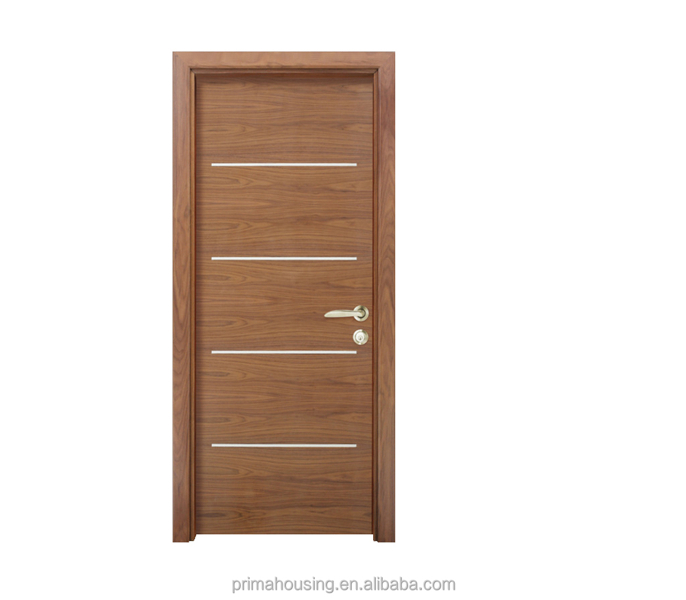 Cheap price solid wood door veneer wooden flush door for Designer door design