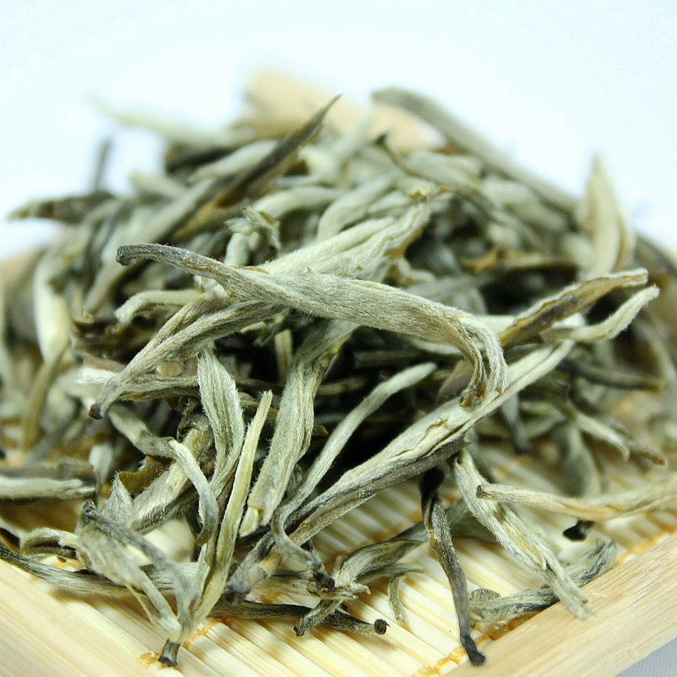 Chinese Factory Price high end tea Silver Needle Green Jasmine tea leaves - 4uTea   4uTea.com