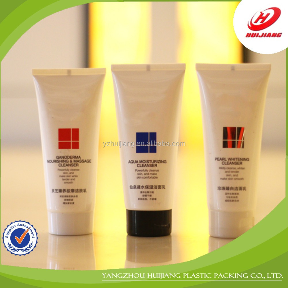 Color Cosmetic Tube Container, 50ml hand cream tube design