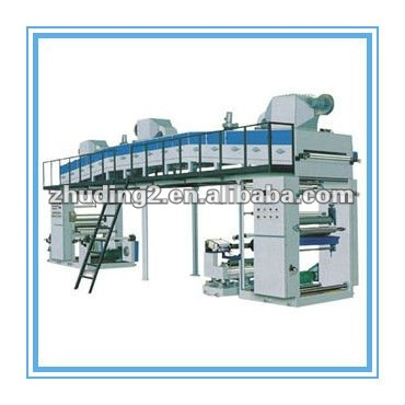 2012!!! 600mm width Dry-method high speed laminating machine/ laminator , rolled plastic film material with other materials