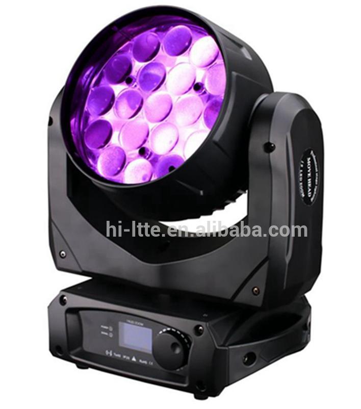 China Lighting! Hi-ltte Led Zoom Matrix Moving Head Light 19pcs ...