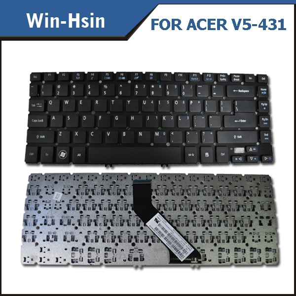 New Genuine Laptop keyboard custom for acer laptop keyboard V5-431 V5-471 14-inch series