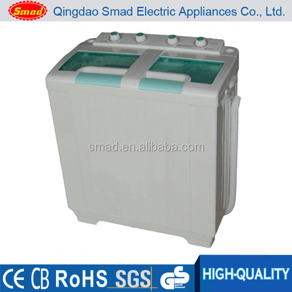 Smad 8KG Twin Tub Washing Machine Manual Home Washer Dryer Laundry Machine 220v