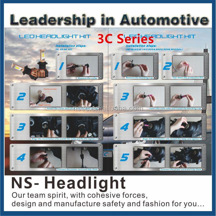 2015 H4 H7 H8 H10 H13 H16 Led Headlight 10000lm Led Car Headlight ...