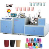SINI JBZ-BG Paper Sleeve Forming&Closing Machine paper coffee cup sleeve making machine manufacturer