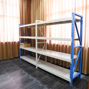 Supermarket Warehouse Storage Steel Stacking Goods Rack Shelves