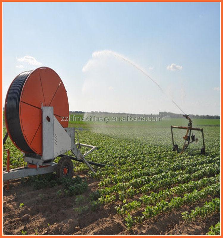 Types of irrigation system hose reel sprinkler drip center