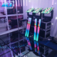 Disco Colorful stage lighting 3d effect mirror portable led dance floor/christmas led light