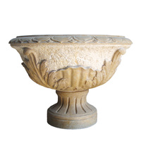 Factory Direct Sales China Factory Price New Coming Cheapest Carved Stone Planter