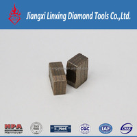 Customized all grinding tools diamond segment for granite saw blade