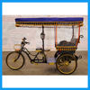 Cost-effective 3 Person Bajaj Triciclo Pedal Rickshaw Bike for Sale