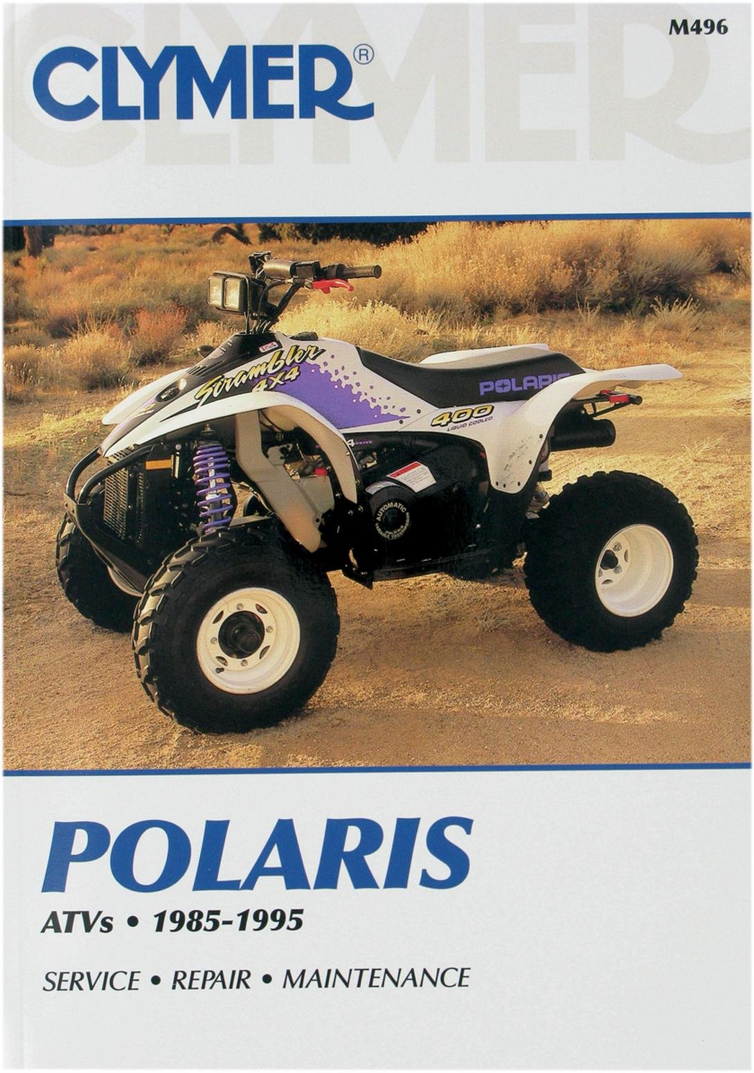 Get Quotations · 1985-1995 POLARIS POLARIS ATV (ALL 6 WHEEL DRIVE MODELS) SERVICE  MANUAL/