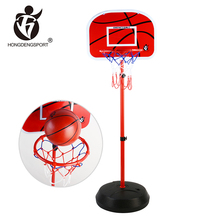 1.7M portable stand wholesale basketball goals with ball inflator