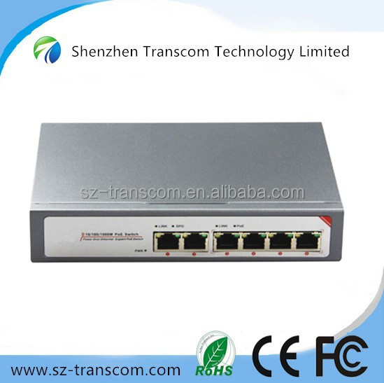 4 Port Gigabit Ethernet PoE Switch/4 Port PoE/802.3at/af