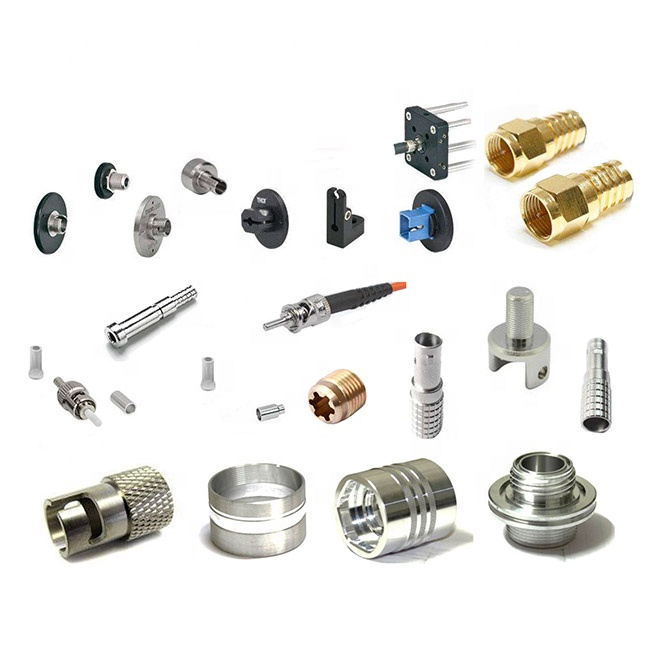 China suppliers provides fiber <strong>adapter</strong> for optic connector accessories,pins, clamps,spares parts as well as cnc machining parts