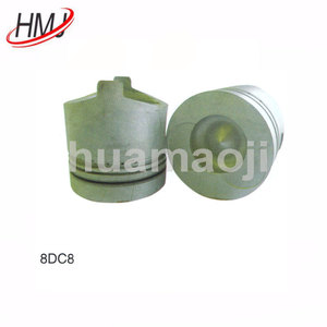 8DC8 aluminum engine piston for motorcycles