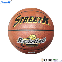 streetk brand cheap pu basketball size 7 basketball training