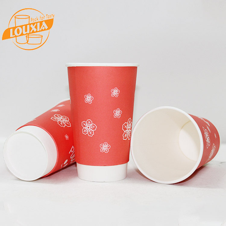 High Quality Factory Price Hot Drink Double Cup Coffee Paper