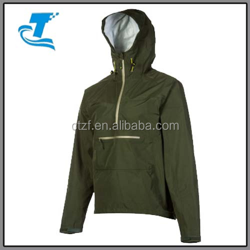 Casual Style Men Wind Plain Pullover Rain Jacket - Buy Pullover ...