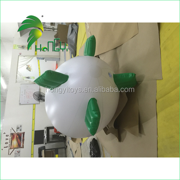 Funny Simple Custom Design Inflatable 1m Lovely Small Airship Blimp Balloon Toy