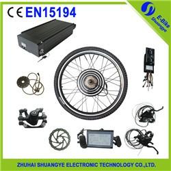 elektrische fahrrad umbausatz mit batterie 48 v 500 watt. Black Bedroom Furniture Sets. Home Design Ideas