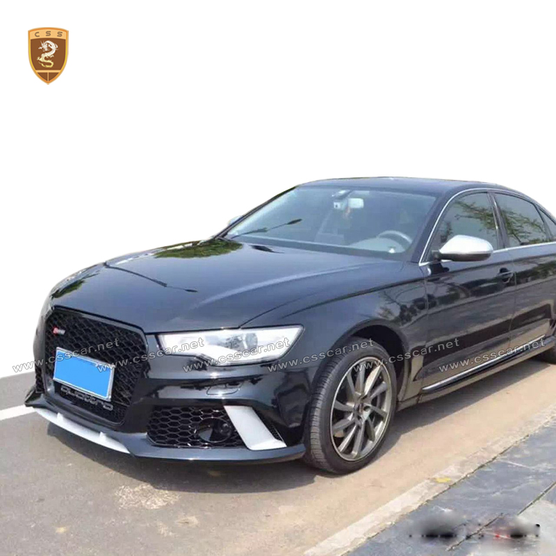 Rs6 Style Affordable Body Kits Fit For A6 Best Pp Material