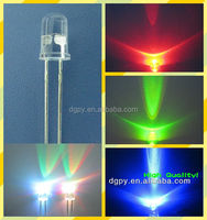 RGB Slow flashing Fast Flashing leds 3mm 5mm 8mm 10mm Light Emitting Diodes ( CE & RoHS Compliant )